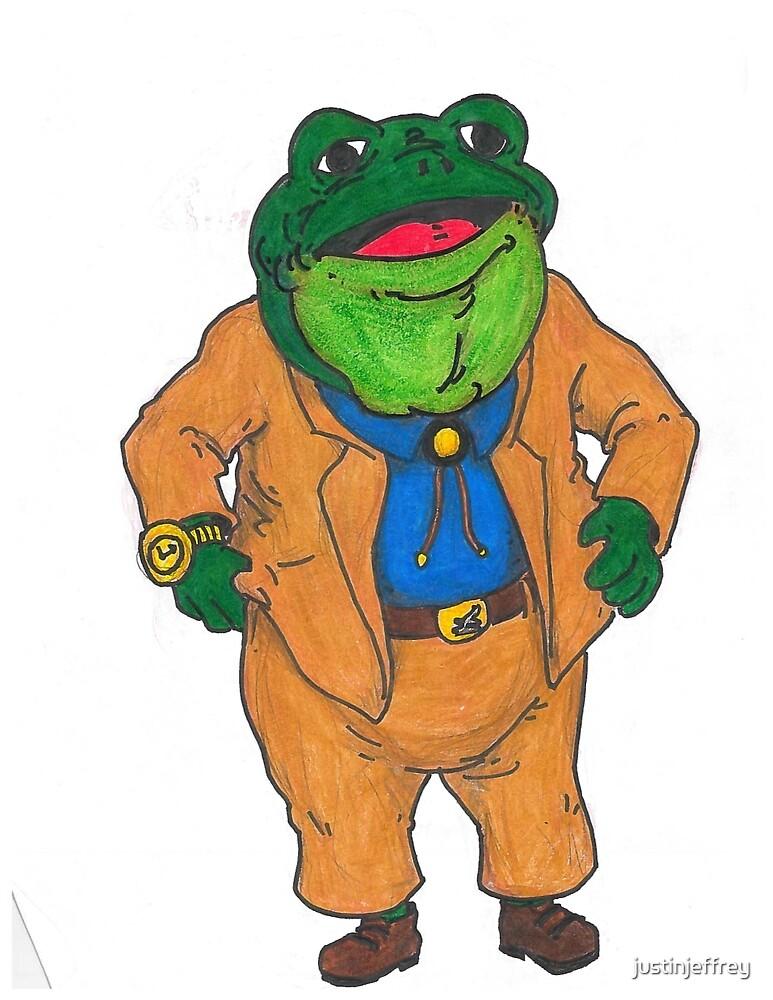 Frog Lawyer by justinjeffrey
