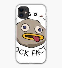 Rock Fact! iPhone Case