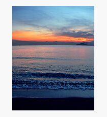 Sea-Sunset Photographic Print