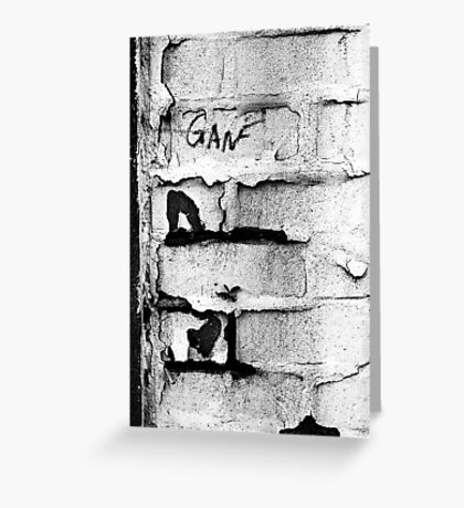 Who Is Ganf? Greeting Card