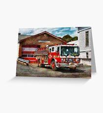 Fireman - Union Fire Company 1  Greeting Card