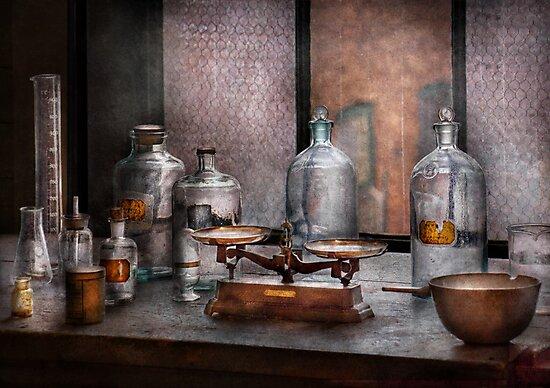 Chemist - The art of measurement  by Michael Savad
