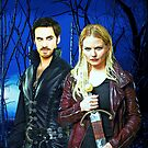 Captain Swan Comic Poster Logoless Design Version 3 by Marianne Paluso