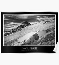 Emmons Glacier, Mount Rainier National Park Poster