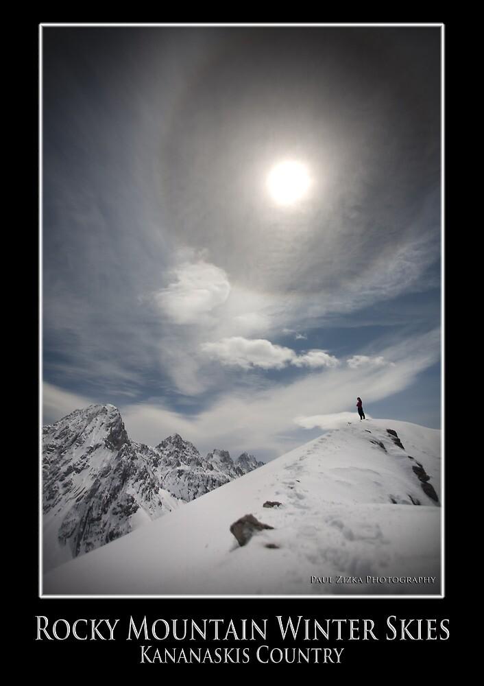 Rocky Mountain Winter Skies, Kananaskis Country by mountainpz