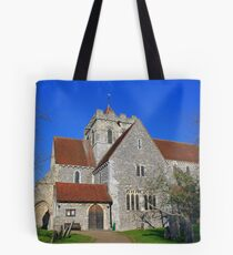 Boxgrove Priory Church of St Mary The Virgin and St Blaise Tote Bag