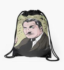 """Vincent Price """"The Bat"""" Illustration! Drawstring Bag"""
