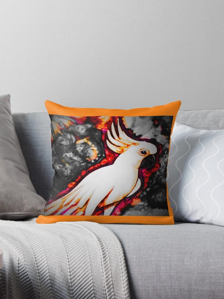 Orange cocky by Pipsilk