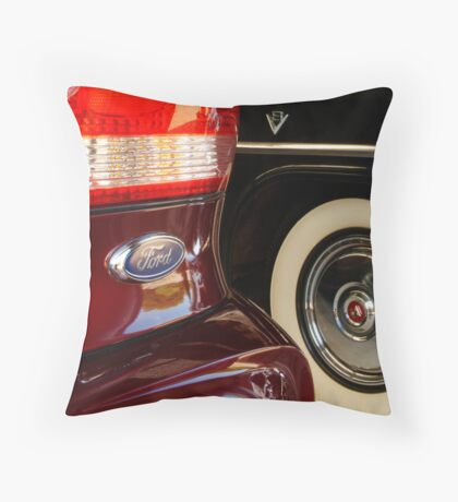 Two Fords Throw Pillow