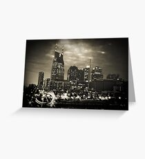 Downtown Nashville Tennessee Greeting Card