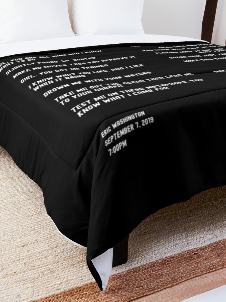 Alternate view of Lover Comforter