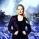 "Emma Swan Comic Poster ""The Savior"" Logoless Design by Marianne Paluso"
