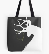 Hannibal Ravenstag Silhouette Charcoal Tote Bag