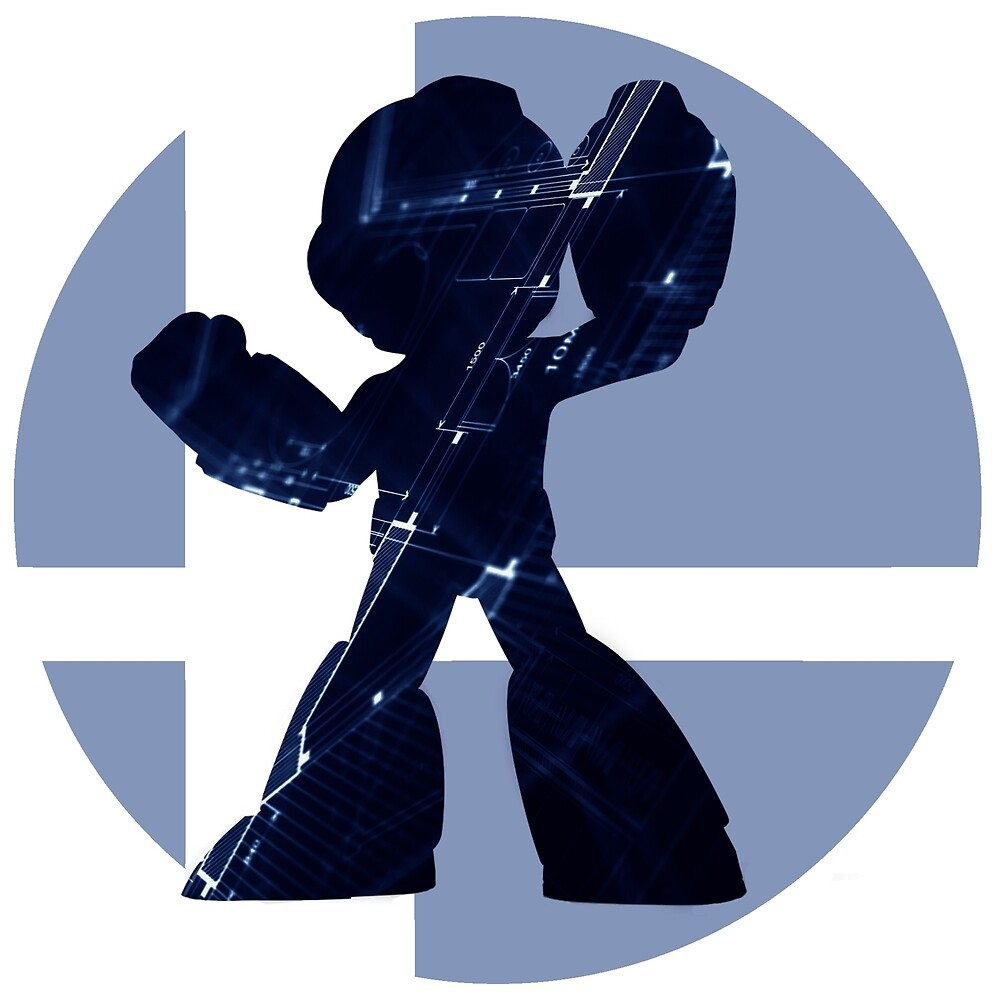 Sm4sh - Mega Man by VibrantEchoes