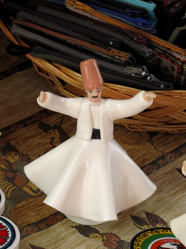 Quot Whirling Dervish Figurine Style That Is Quot By Janie D