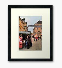 Pedestrians Framed Print