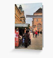 Pedestrians Greeting Card
