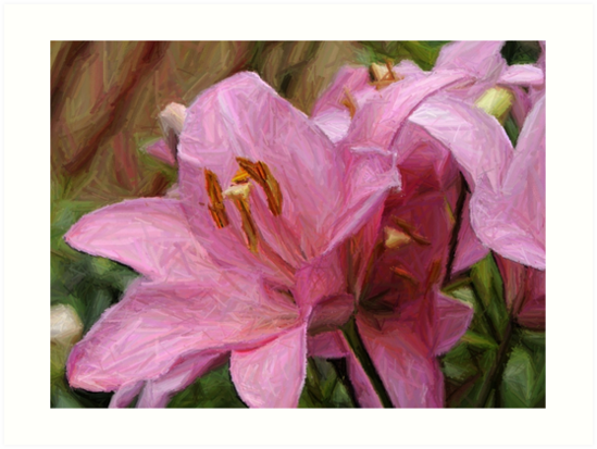 The Painted Lily by dunawori