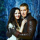 Snow and Charming Comic Poster Logoless Design 2 by Marianne Paluso