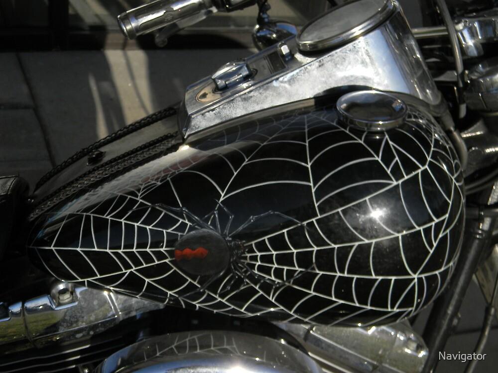 Spidey Moto, 3-D by Navigator