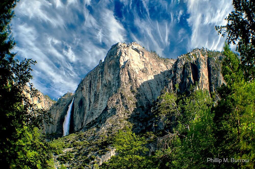 Upper Yosemite Falls  by Phillip M. Burrow