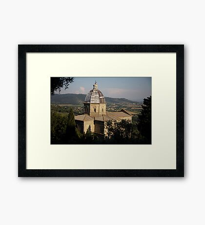 cityscapes #160, in the glow  Framed Print