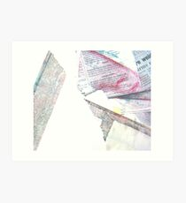 linear referencing #3 Art Print