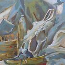 Still Life with Shoe and Skull by John Douglas