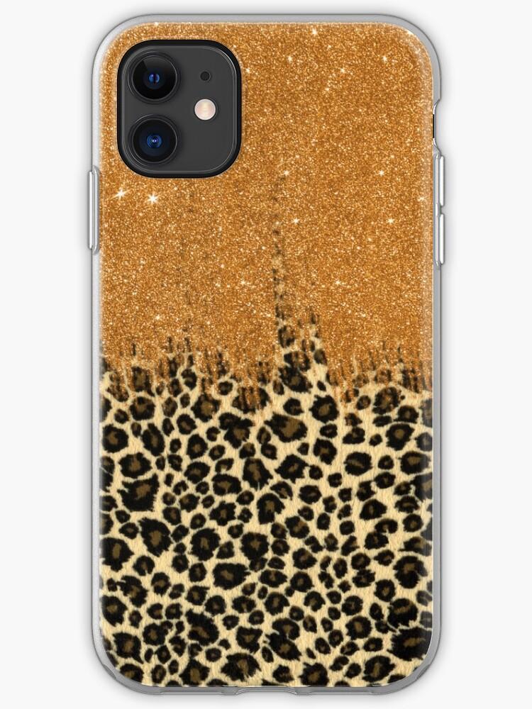 Brushstroke Glitter Trendy Girly 2 iphone case