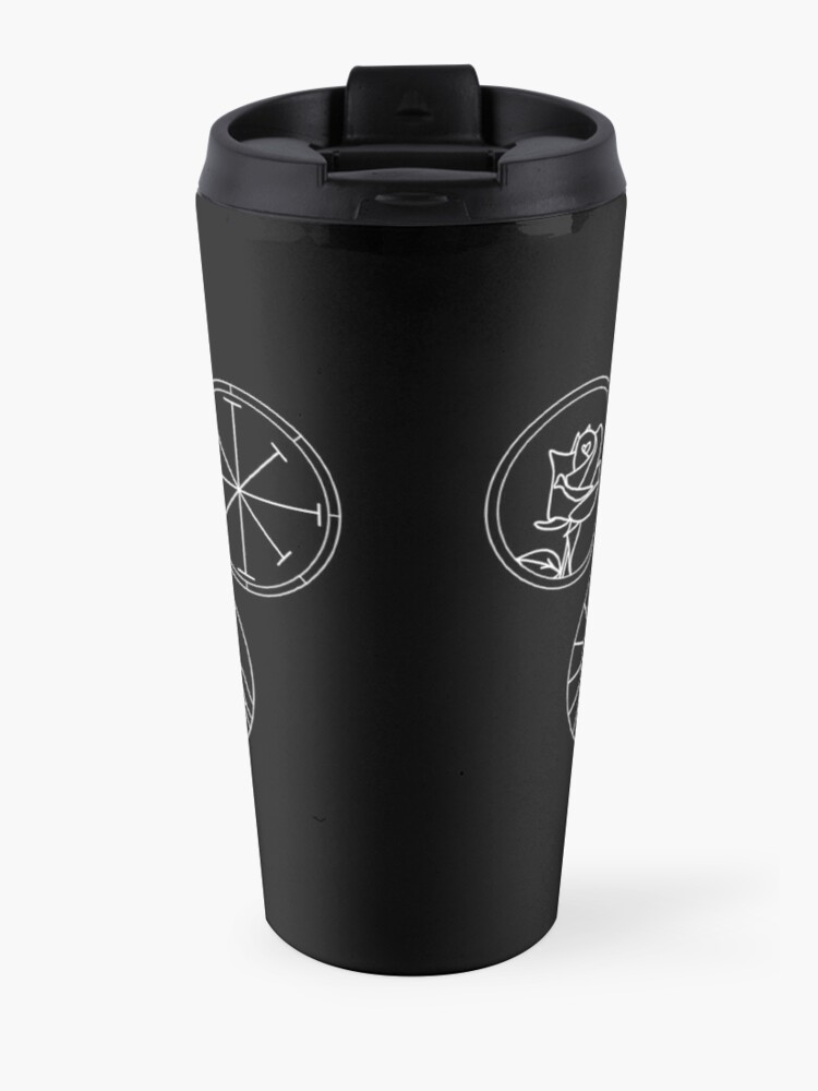 Alternate view of Prythian Courts Travel Mug