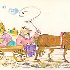 Man and Horse by Tigran Akopyan