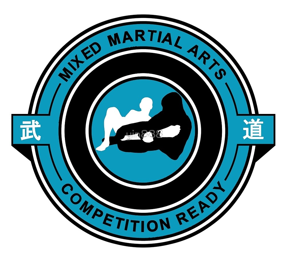 Mixed Martial Arts Competition Ready Kneebar Blue  by yin888