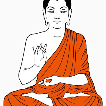 buddha by tshart