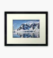 Antarctic Drive By Framed Print