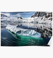 Antarctic Iceberg Poster