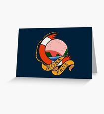 Mona Pass Sailor Greeting Card