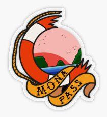 Mona Pass Sailor Transparent Sticker