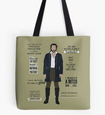 ICHABOD CRANE QUOTES Tote Bag