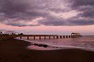 dusk at waimea by Flux Photography