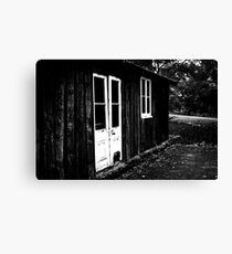 White Doors - Bellarine Peninsula Canvas Print