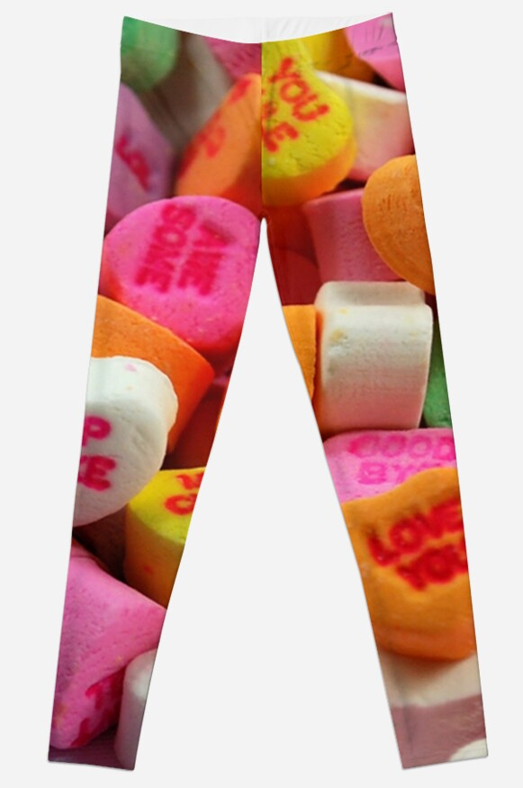Valentines Day Candy Hearts by Leggings For Days