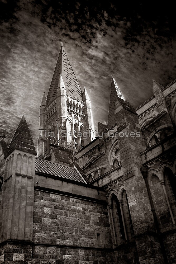 St Johns' Spires by Tim  Geraghty-Groves