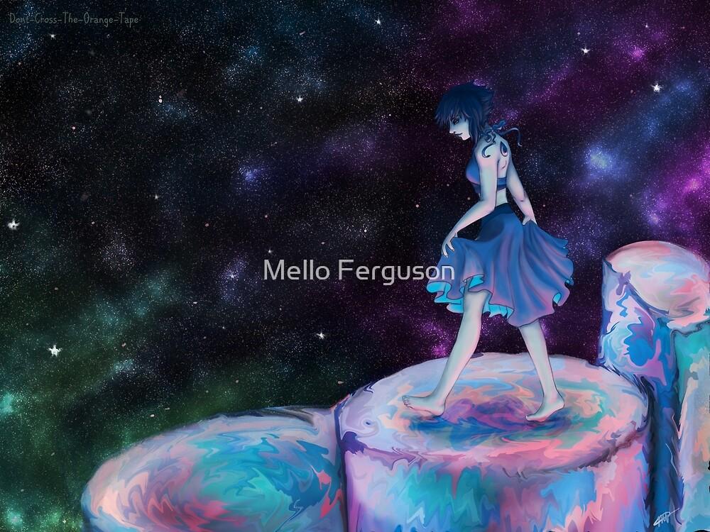 Lapis Lazuli Ocean Tower by Mello Ferguson