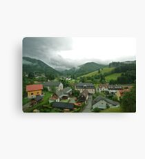 In the Valley - Austria Canvas Print