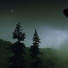 balloon over Whistler_ by Jon Downs