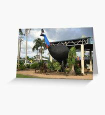 The Big Cassowary Greeting Card