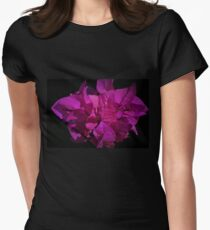 Purple Queen - Bougainvillea Womens Fitted T-Shirt