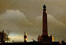 Plymouth Hoe at Dawn, Devon, UK  by David Carton