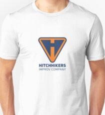 Hitchhikers Improv (Navy & Orange) Unisex T-Shirt