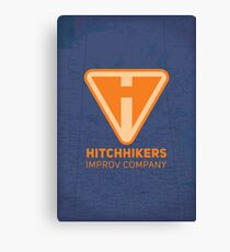 Hitchhikers Improv (Creamsicle) Canvas Print